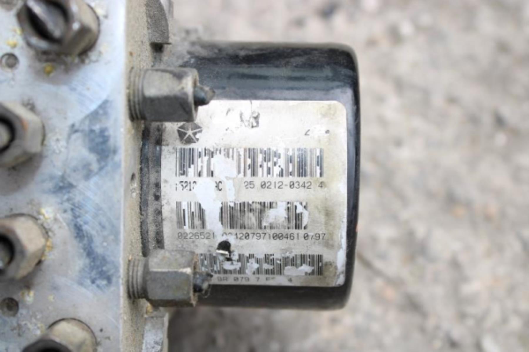 Εικόνα από ABS  JEEP GRAND CHEROKEE (2005-2008) 3000cc P5212****AC 25.0212-0342.4 25.0928-4308.3   25.0613-3406.3   Turbo Diesel