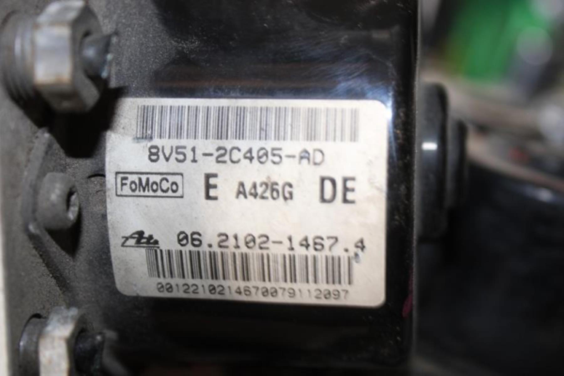 Εικόνα από ABS  FORD FIESTA (2008-2013)  8V51-2C405-AD 06.2102-1467-4   diesel