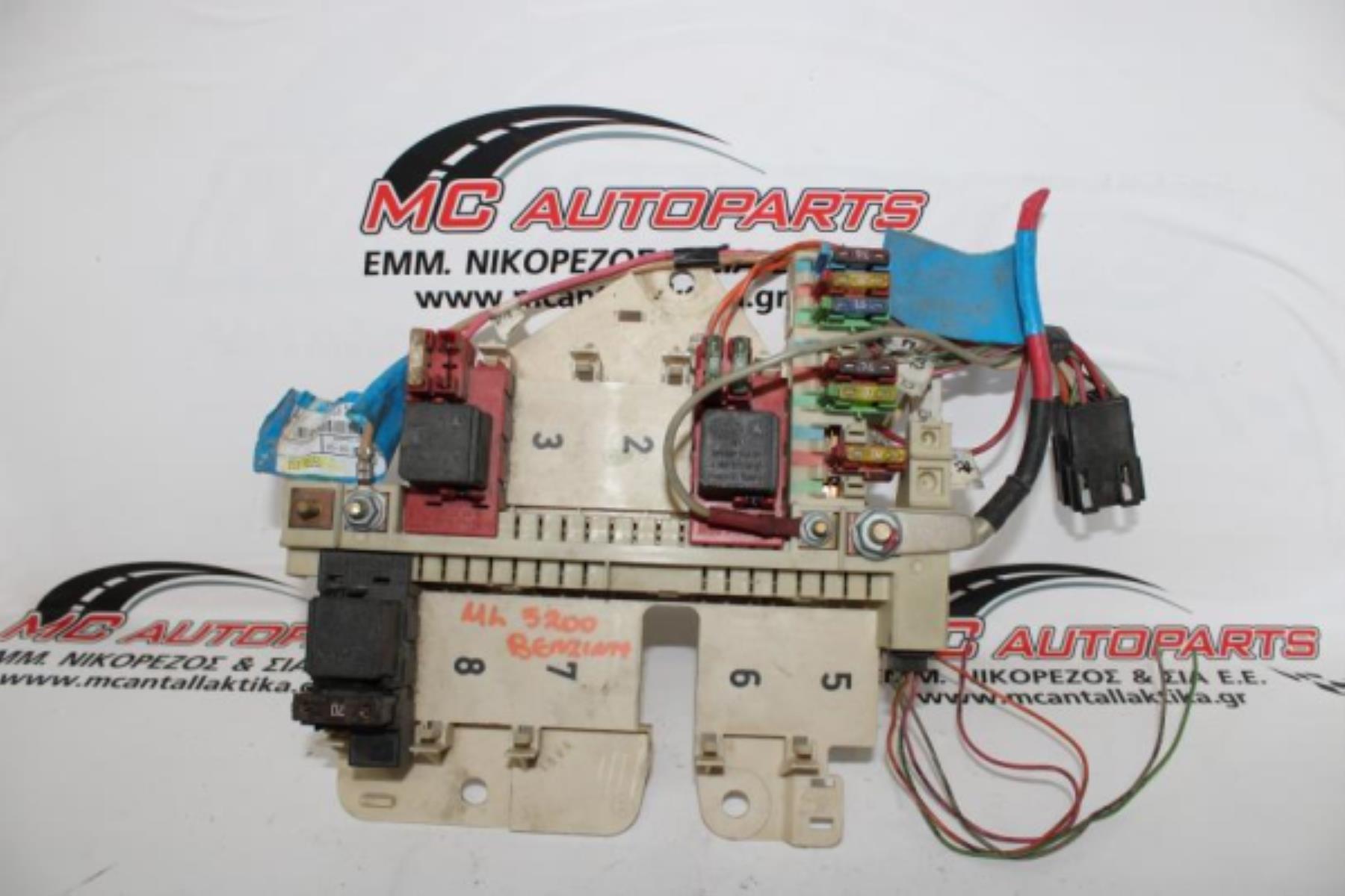 Εικόνα από Ασφαλειοθήκη  MERCEDES W163 ML (1998-2005) 3200cc 1635450305   μέσα