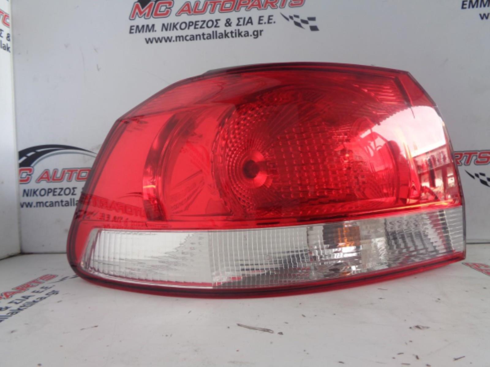 Εικόνα από Φανάρι  Πίσω Αριστερό  VW GOLF 6 (2008-2013)