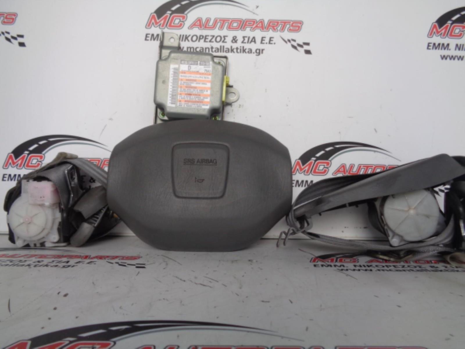 Εικόνα από Αερόσακος  Set  SUZUKI CARRY (1998-2013)     οδηγού εγκέφαλος, ζώνες μηχανικές