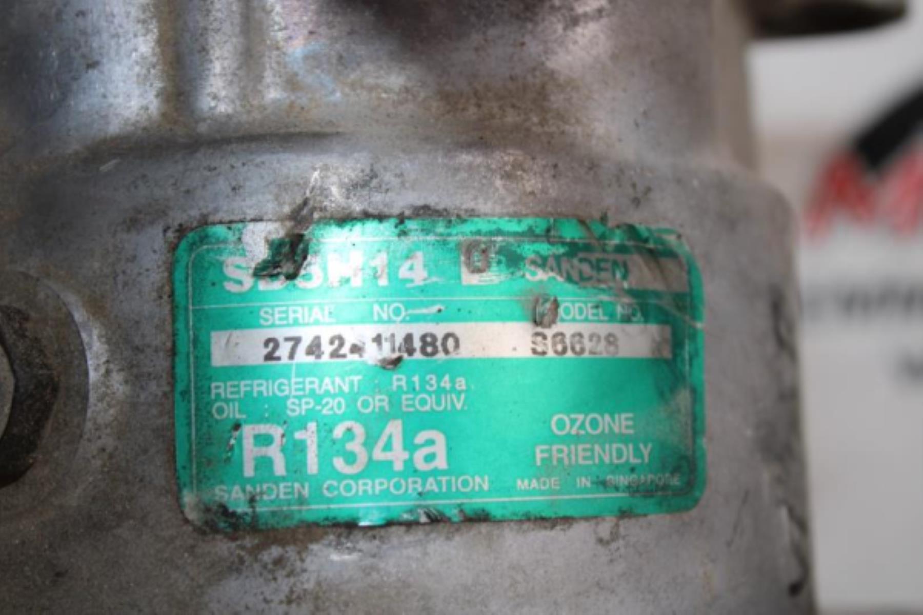 Εικόνα από Κομπρεσέρ Air Condition  SUZUKI VITARA (1993-1998 | 1998-2004)  S6628