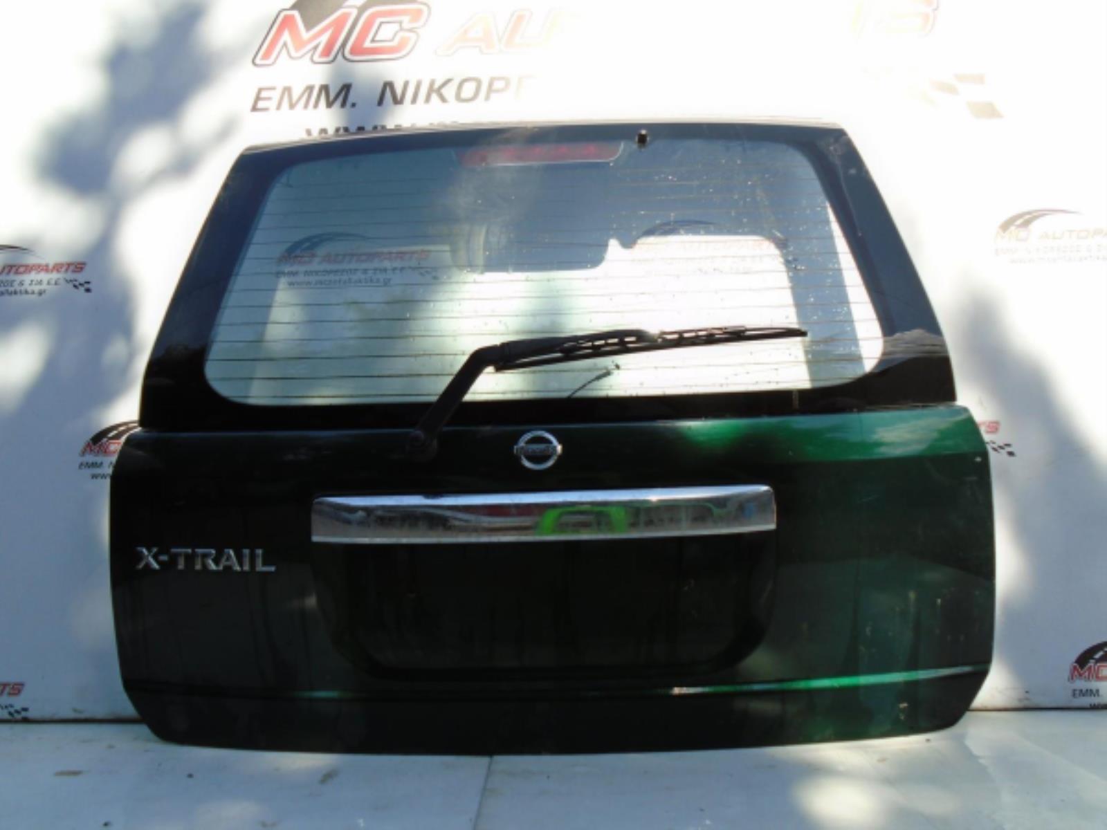 Εικόνα από Πορτ-Μπαγκάζ Πράσινο NISSAN X-TRAIL (2005-2007)