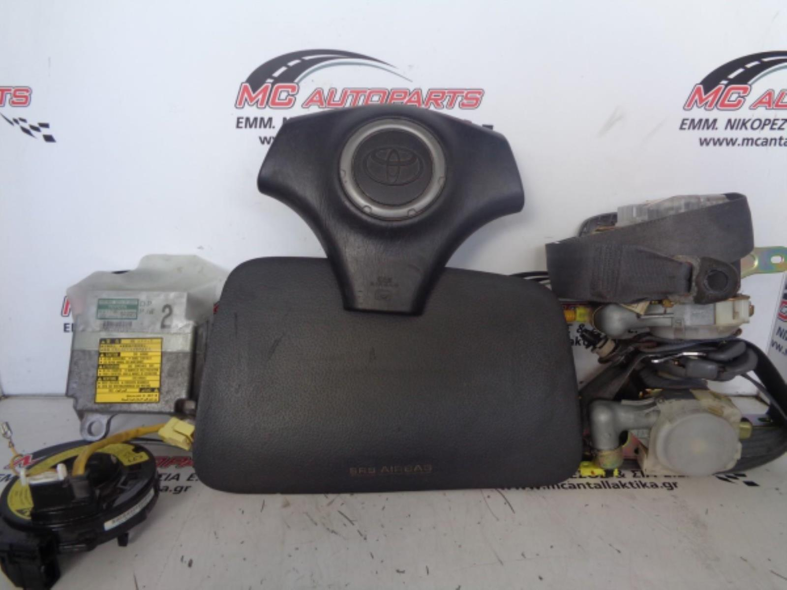 Εικόνα από Αερόσακος  Set  TOYOTA RAV-4 (2001-2006)     Οδηγού,συνοδήγου,2 ζώνες,ταινία,εγκέφαλος airbag